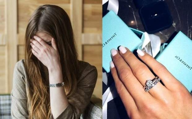 Девушка отправилась в магазин обменять кольцо, подаренное женихом, и невольно раскрыла его обман