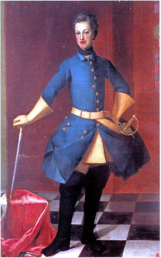 Герцог Карл Фридрих Гольштейн-Готторпский, отец Петра III, родоначальника Гольштейн-Готторпов (Романовых)