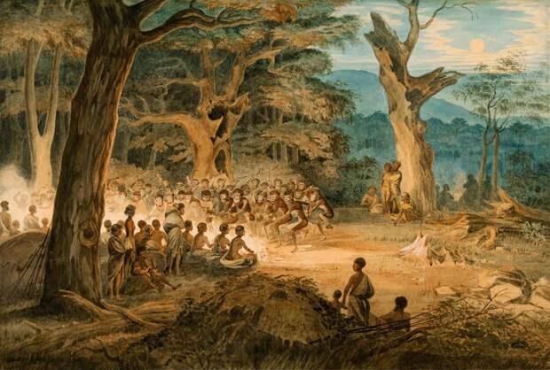 South Australian Corroboree - AGSA Collection