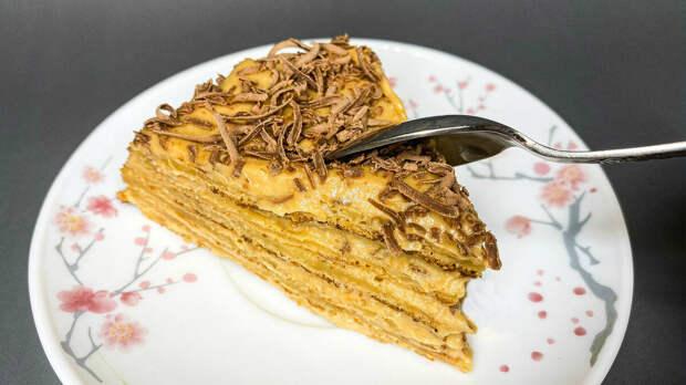 Очень вкусный торт без духовки и без заморочек