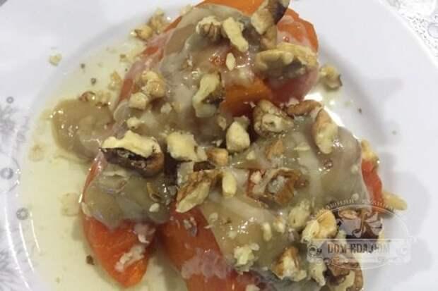 Десерт из тыквы по-турецки
