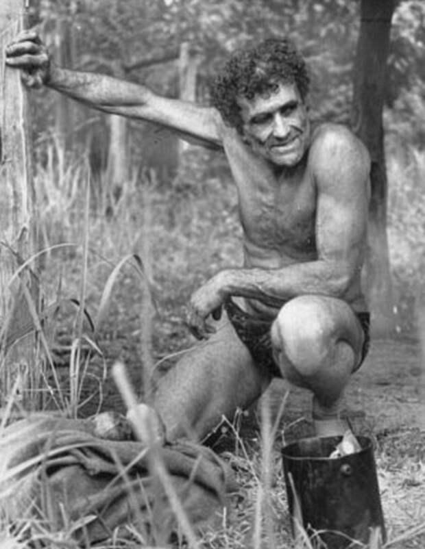 «Русский Тарзан»: удивительная история о человеке, прожившем 60 лет среди крокодилов и диких кабанов