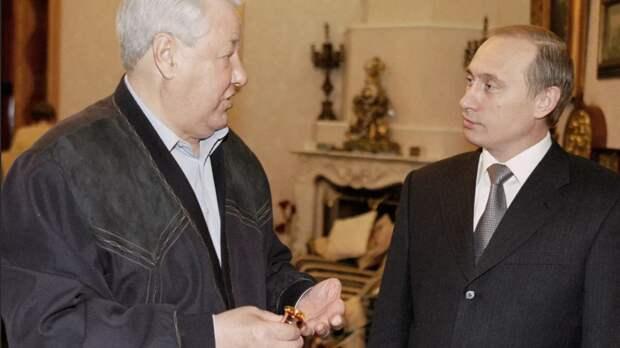 Внимание вопрос! Почему запад хвалил Ельцина и критикует Путина?