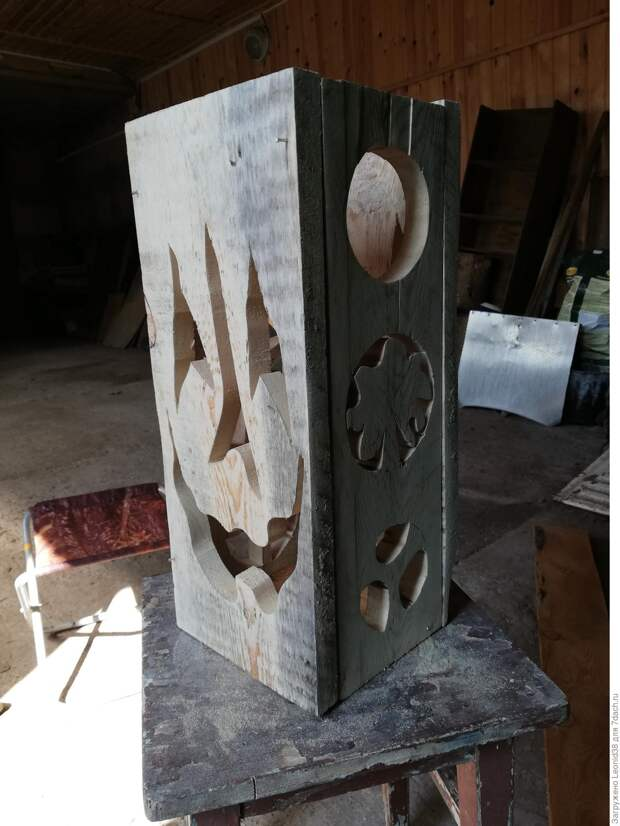 Записки старого ворчуна. Строим декоративный фонарь для сада