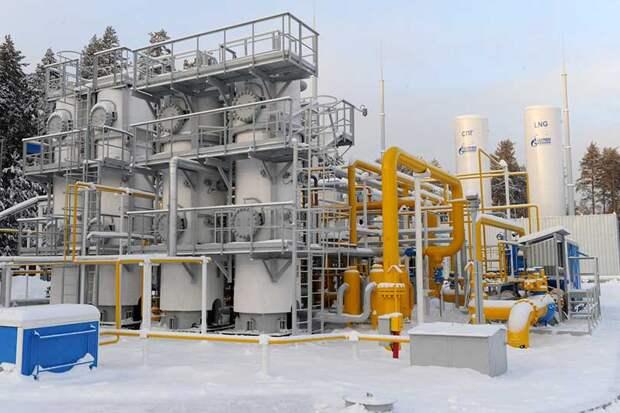 В Якутии планируется построить новый завод по производству сжиженного природного газа