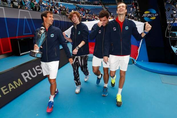 Рублев: «Итальянцы очень сильные. В том, что финал ATP Cup сложился именно так, есть доля везения»