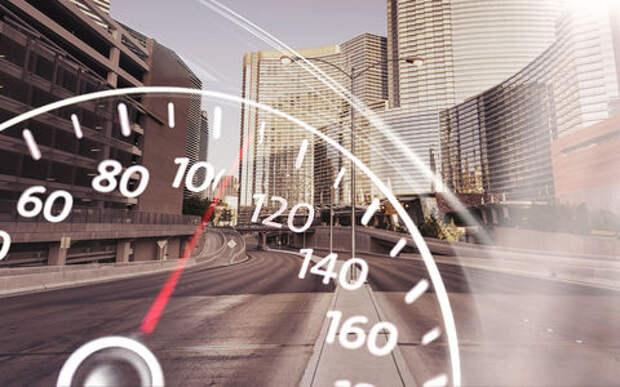 Штраф за +10 км/ч появится в городах, но не на трассах