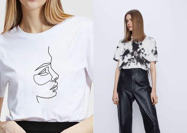 Самые трендовые футболки лета — какие они?