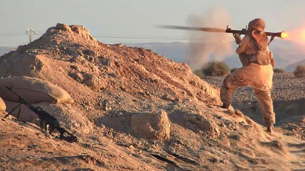 США вместе с террористами начали в Сирии наступление на русских. Пока информационно