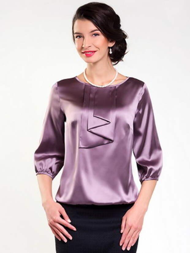 Моделирование блузок для новогоднего вечера