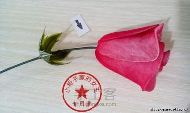 Розы из капрона. Красивые идеи и мастер-класс (82) (592x353, 109Kb)