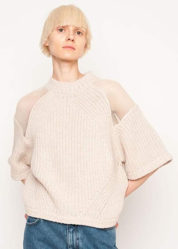 молодежные вязаные свитера