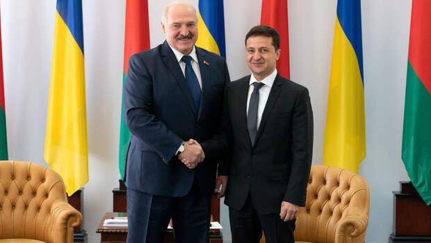 Зеленский и Лукашенко обсудили экстрадицию задержанных в Белоруссии россиян