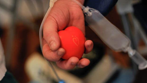 Доноры Подольска сдали более 40 литров крови за прошедшую неделю