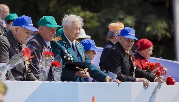 Трансляция парада Победы пройдет на большом экране в сквере Поколений