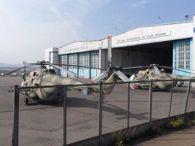 Новые вертолеты Улан-удэнского авиазавода