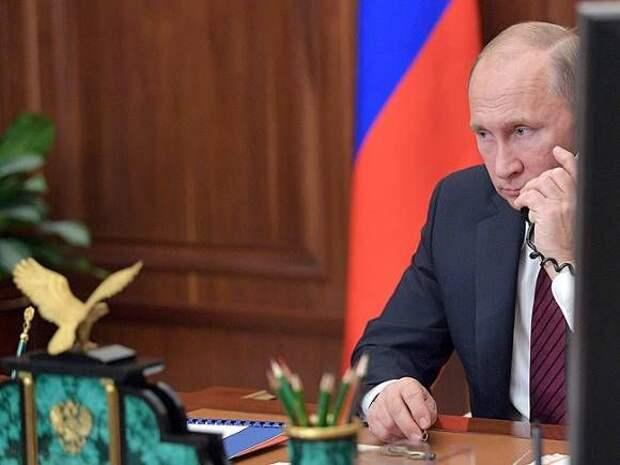 Песков опроверг информацию о «пропущенном» звонке Путина Трампу