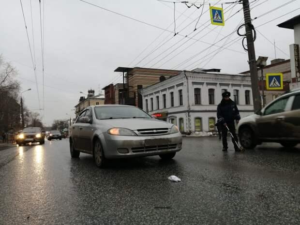В Ижевске на улице Максима Горького насмерть сбили пешехода