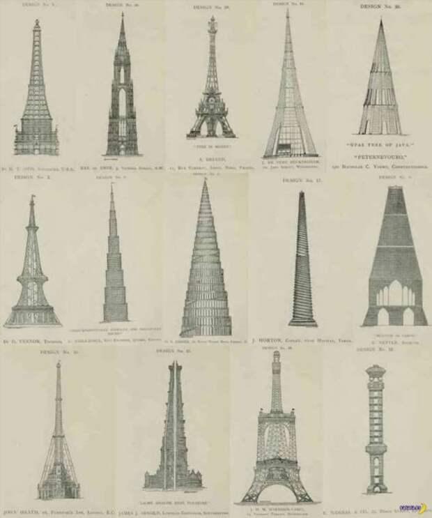 Вместо Эйфелевой башни могло быть что-то другое!