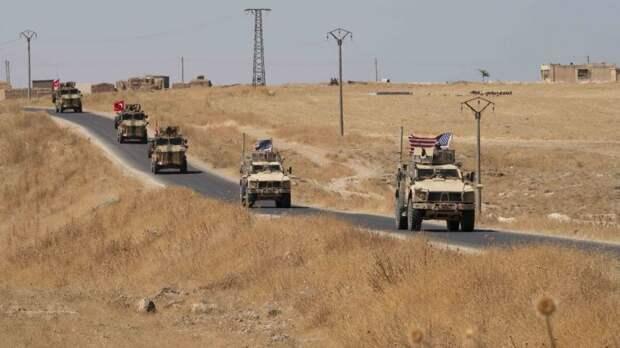 Неизвестные нанесли удар по американской колонне, двигавшейся в Сирию