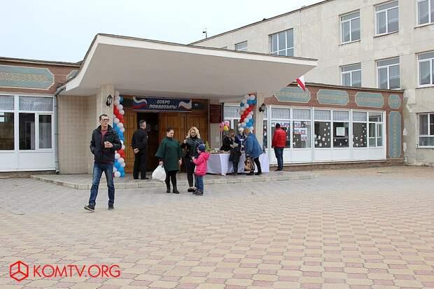 Избирательный участок №446 (школа №17) Выборы в Крыму 2018