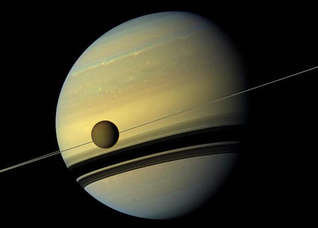 Скорость «убегания» Титана от Сатурна оказалась в 100 раз выше ожидаемой