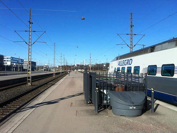 Финляндия открыла пропускной пункт Вайниккала для скоростных поездов в Петербург