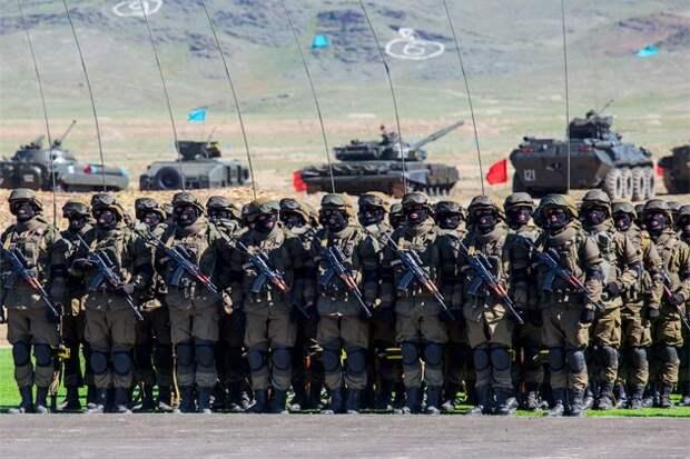 У Казахстана самая мощная армия в Центральной Азии