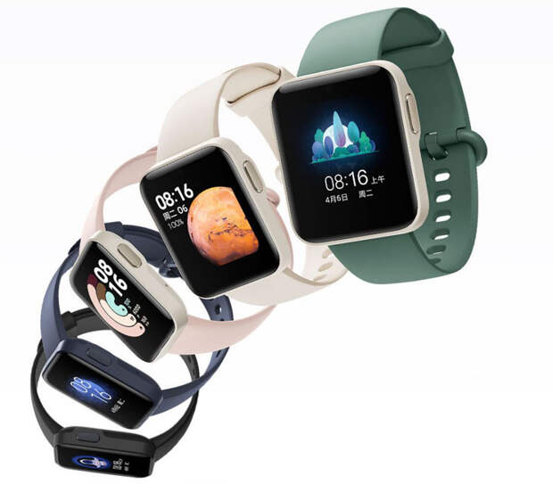 Представлены недорогие, но стильные «умные» часы Redmi Watch