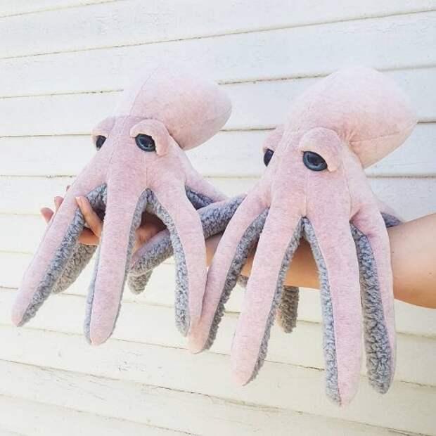 Очаровательные плюшевые игрушки ручной работы