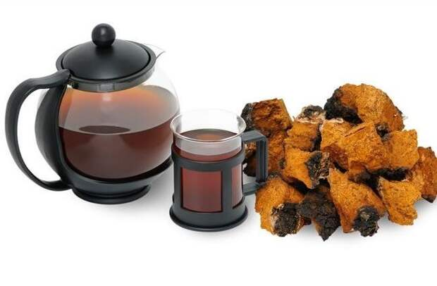 Чай из берёзовой чаги