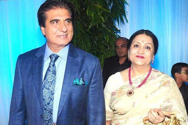 Радж Баббар и Надира Захир