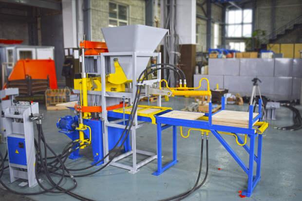 Завод «Стройтехника» — самый крупный производитель вибропрессов