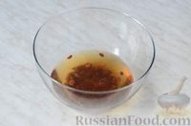 Фото приготовления рецепта: Цитрусовая окрошка на светлом пиве - шаг №2