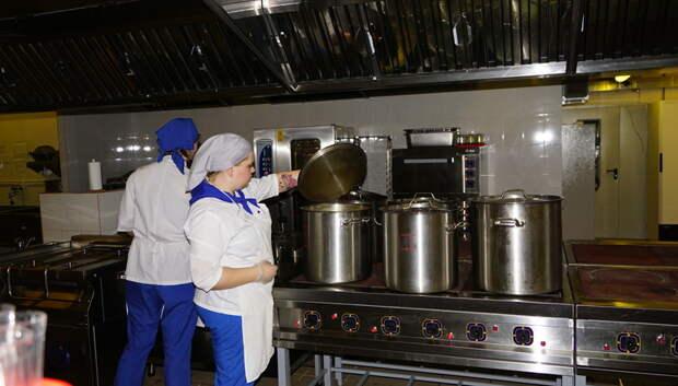 Воробьев: Ремонт школьных пищеблоков необходимо провести на высоком уровне