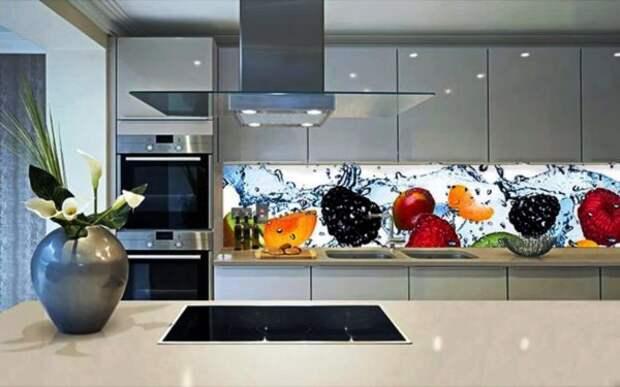 Кухонный фартук: беспроигрышный вариант оформления рабочей зоны