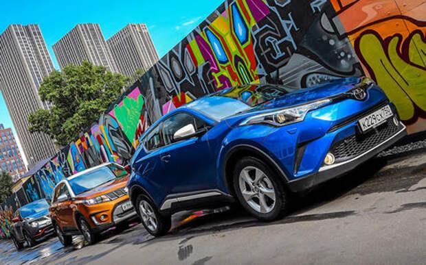 Toyota C-HR против Suzuki Vitara S и Nissan Juke — ,большой тест-драйв