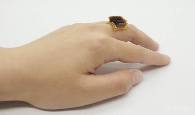 Кольцо с термоэлектрическим генератором превращает человека в аккумулятор