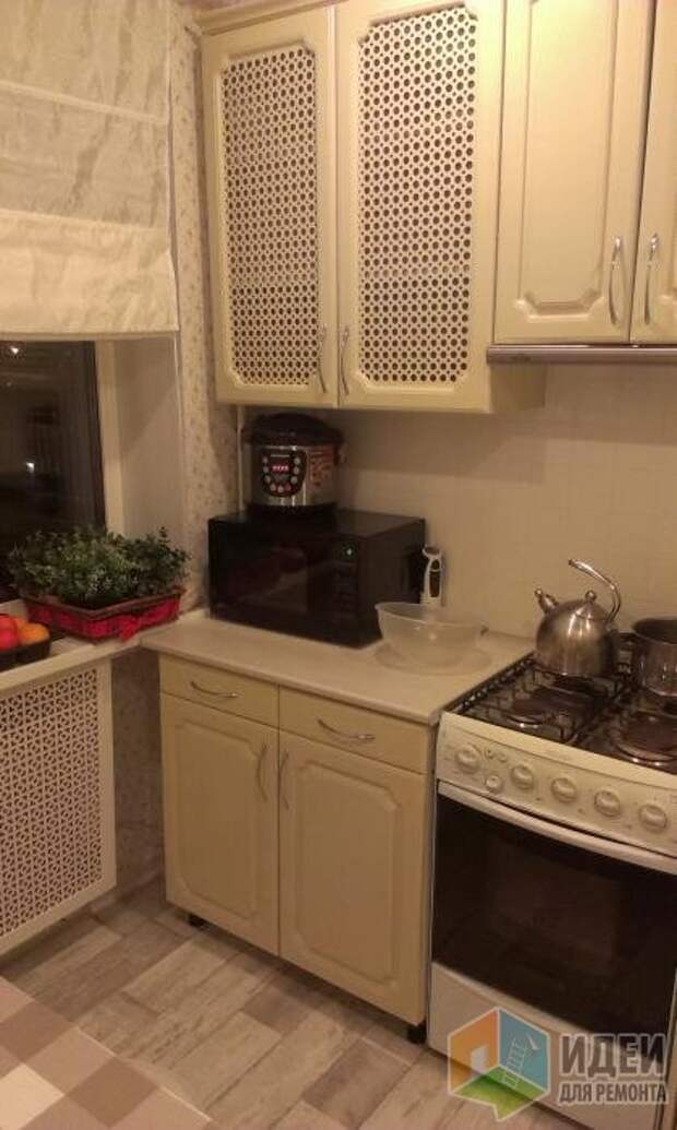 Как я обновила фасады на старой кухне