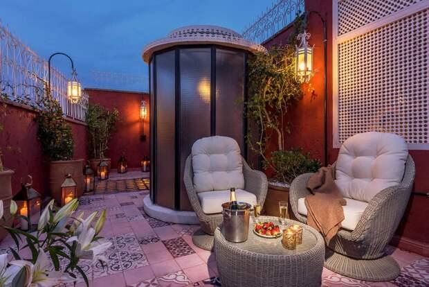 Сказка в марокканском стиле, или Модный бренд в дизайне интерьера