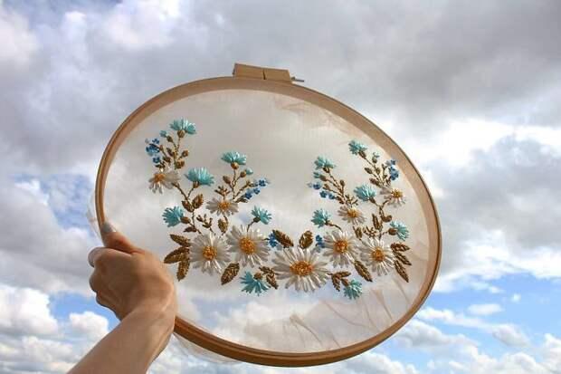 Вышивка по сетке от Криста Декор