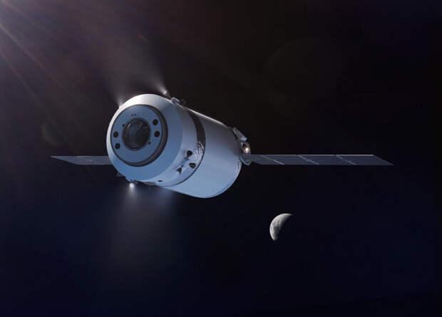 NASA поручило SpaceX доставку грузов на окололунную станцию
