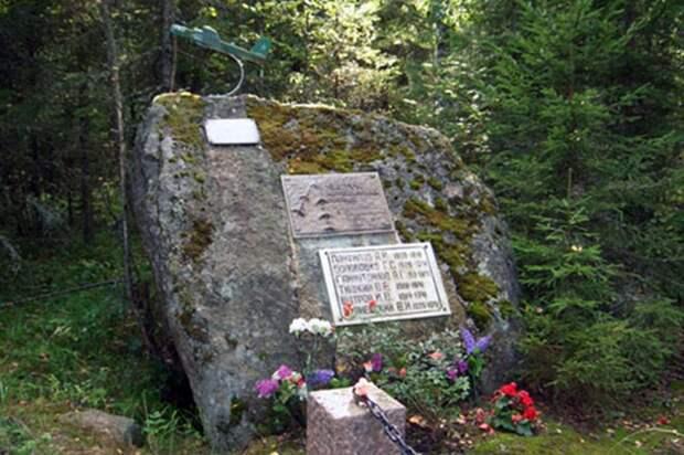Памятник в Лапиньярви