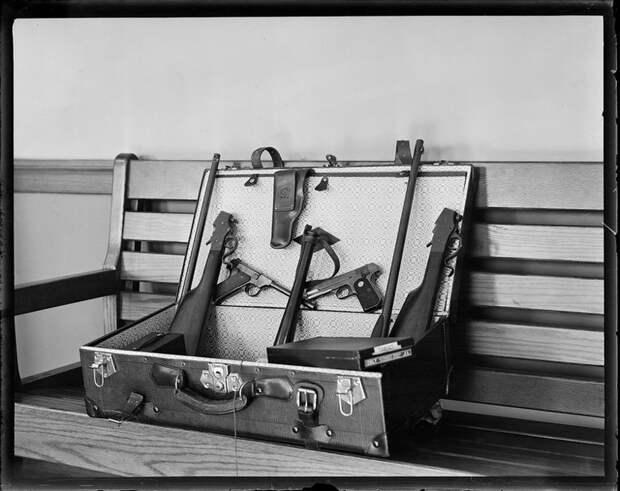 Арсенал киллера времен ганстерских войн в Америке Весь Мир, история, фотографии