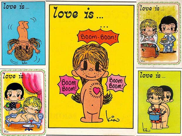 Трагичная история любви авторов знаменитых комиксов Love Is…