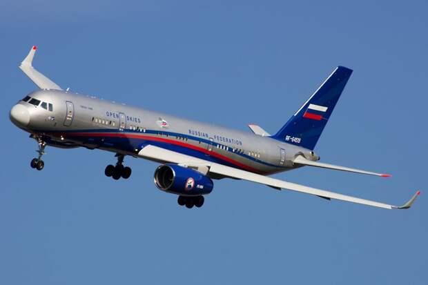 Второй Ту-214ОН поступил на вооружение ВВС России