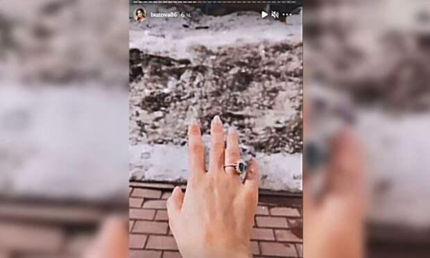 Ольга Бузова показала помолвочное кольцо после расставания с Давой