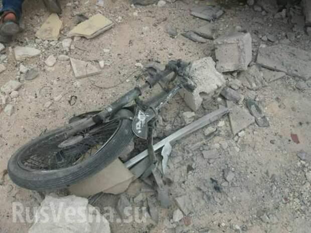 Бойня в Идлибе: Смертники взорвали базу «Ахрар аш-Шам» сотнями кг взрывчатки, убив и ранив десятки боевиков (ФОТО 18+) | Русская весна