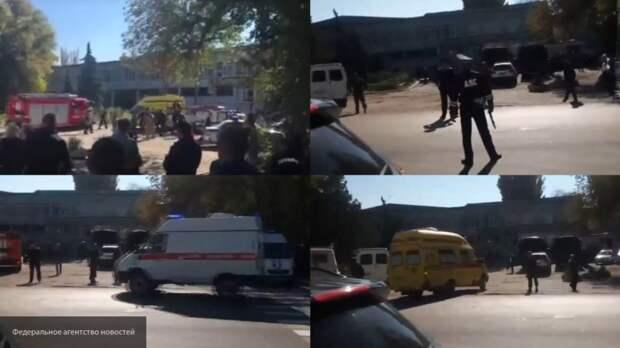 МЧС отправило из Сочи и Ростова-на-Дону в Керчь три Ми-8 со спасателями и психологами на борту