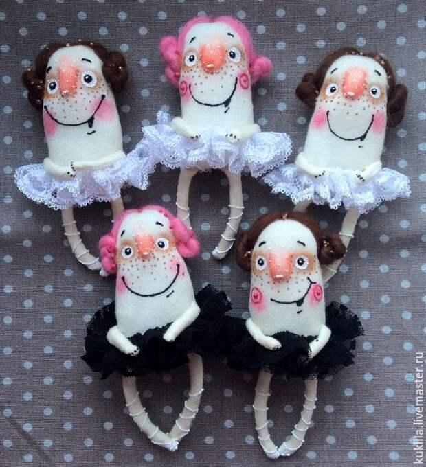 Броши-балеринки от Любви Лаврентьевой